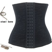 Steel Boned Waist Cincher Lace Underbust Corset CO2307