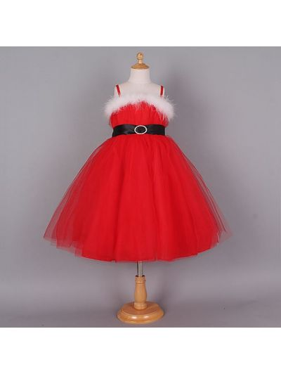 Cute Red Christmas Princess F003