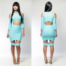 Cut out dress DR3087-B