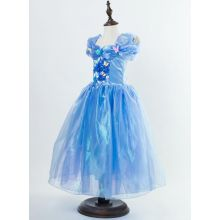 Cinderella Kid Princess Dress Costume F038