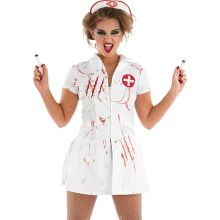Nurse Nightmare Bloody Fancy Dress DR39115