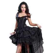 Gothic lace dress DR39145-X