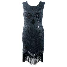 Gatsby retro dress DR39160-3
