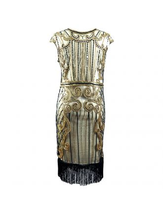 Gatsby retro dress DR39161-2