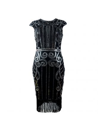 Gatsby retro dress DR39161-5