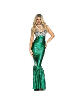 Sea Mermaid Fairytale Costume DR39163
