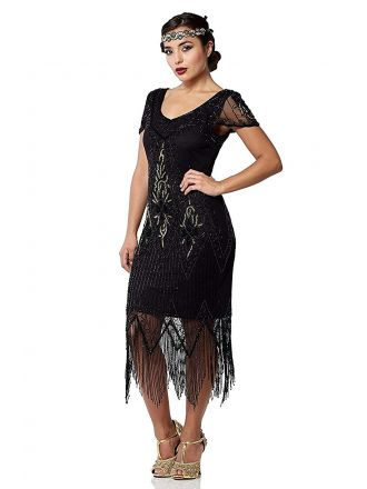RENT Gatsby Chicago flapper dress
